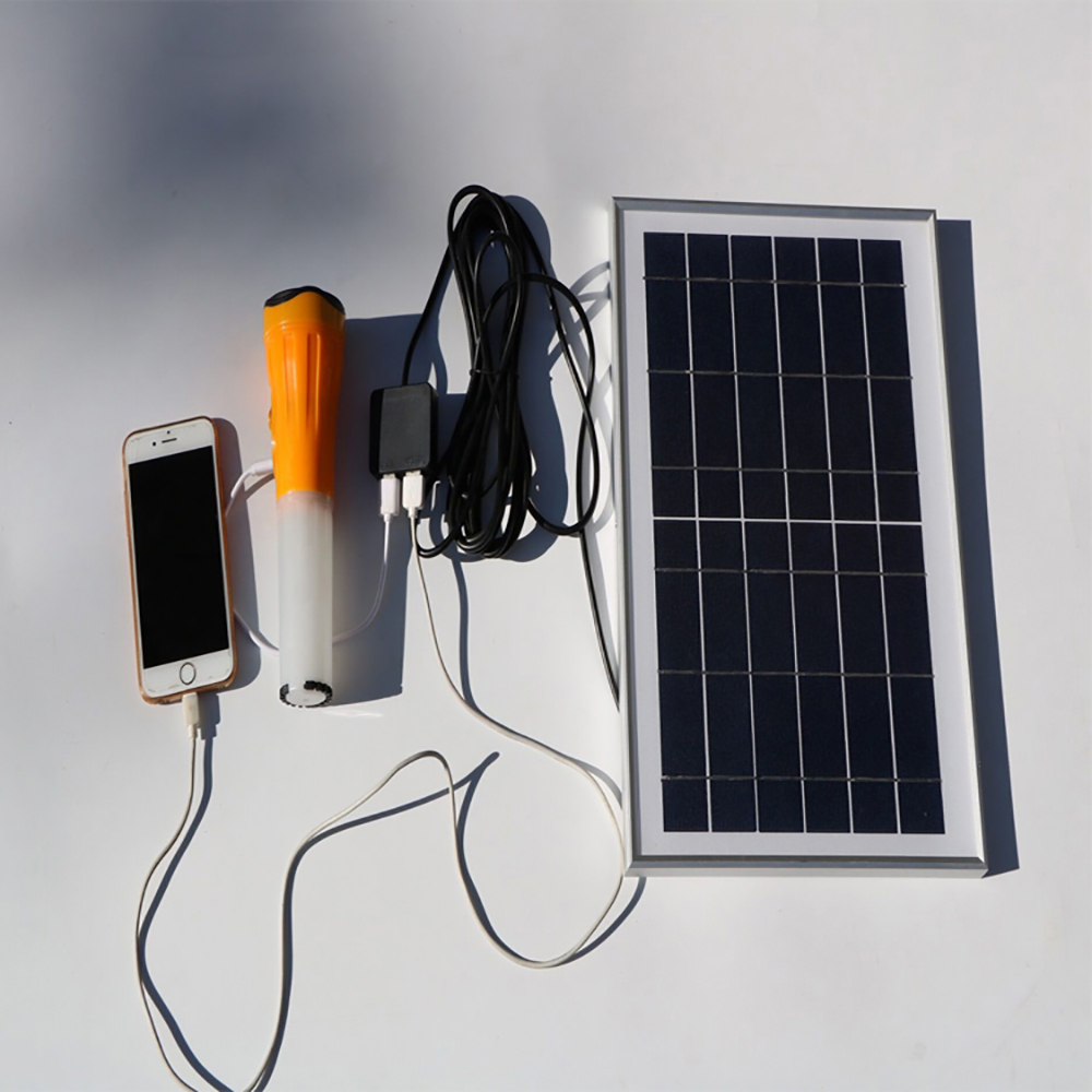 6W Solar Mobile Phone Charger for iPad Electric Book