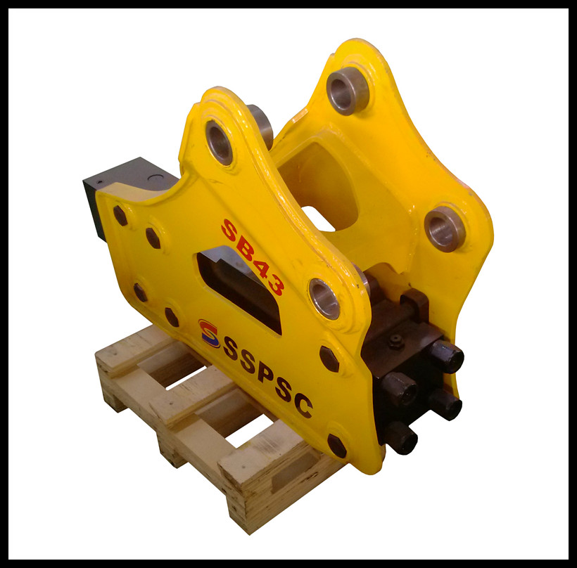 side type small hydraulic breaker hammer for mini excavator