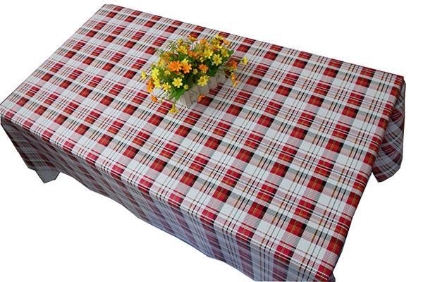 Soft feeling creative printed fabric table mat