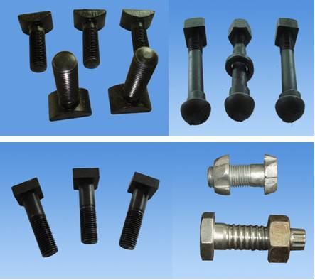 T bolt/rail bolt