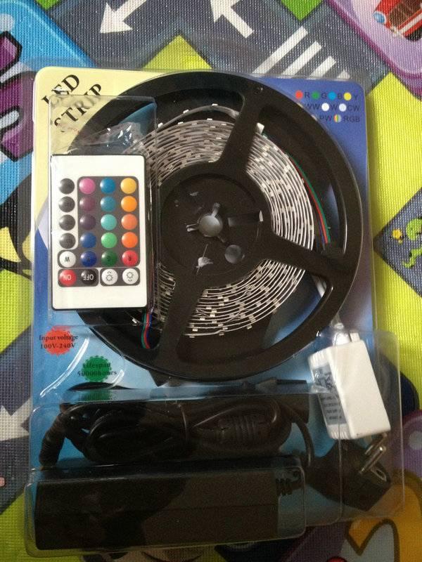 RGB strip light kit