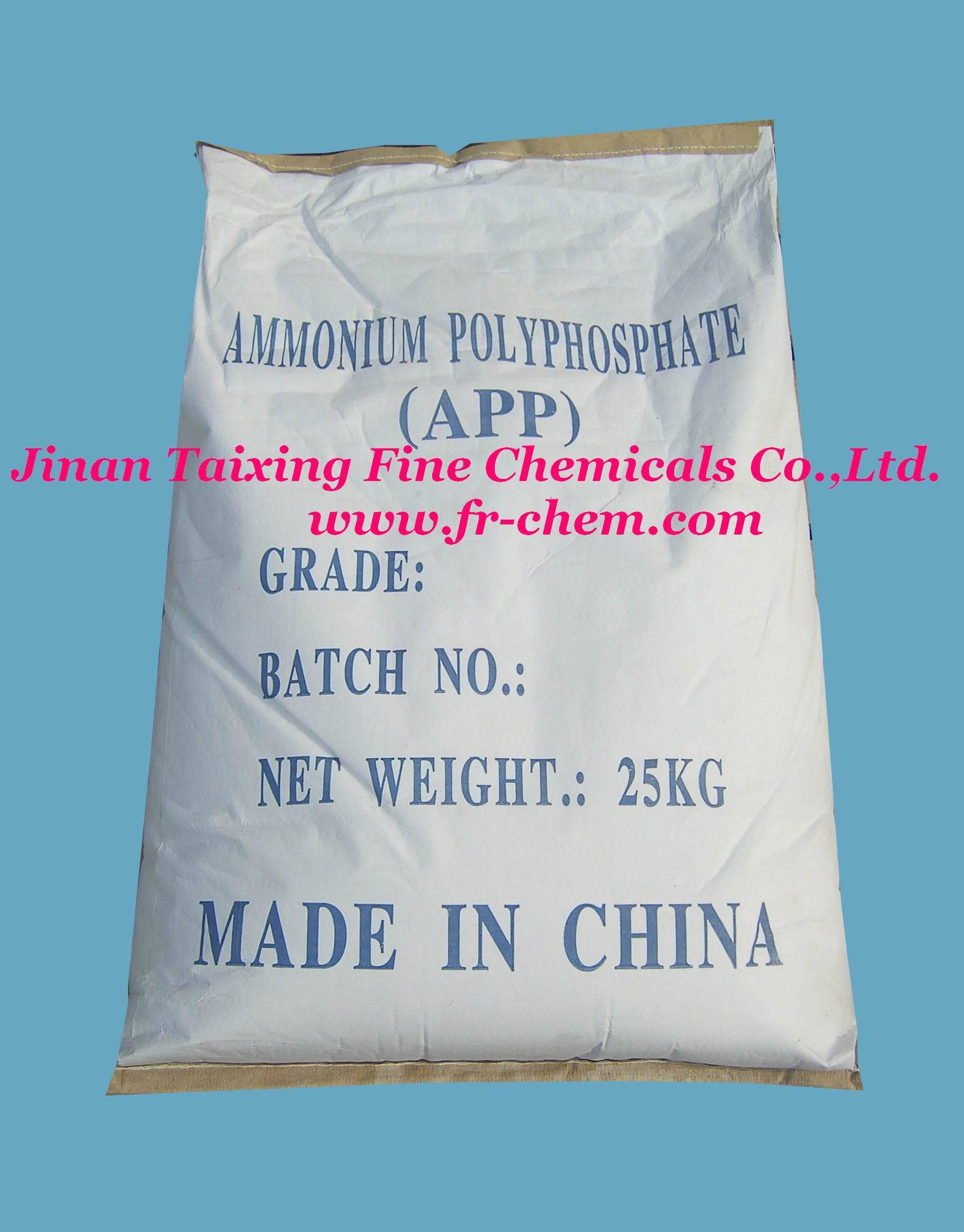 water-resistant Ammonium polyphosphate