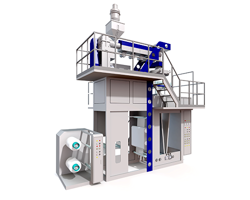 JC-PB45 PP Blown Film Extrusion Line