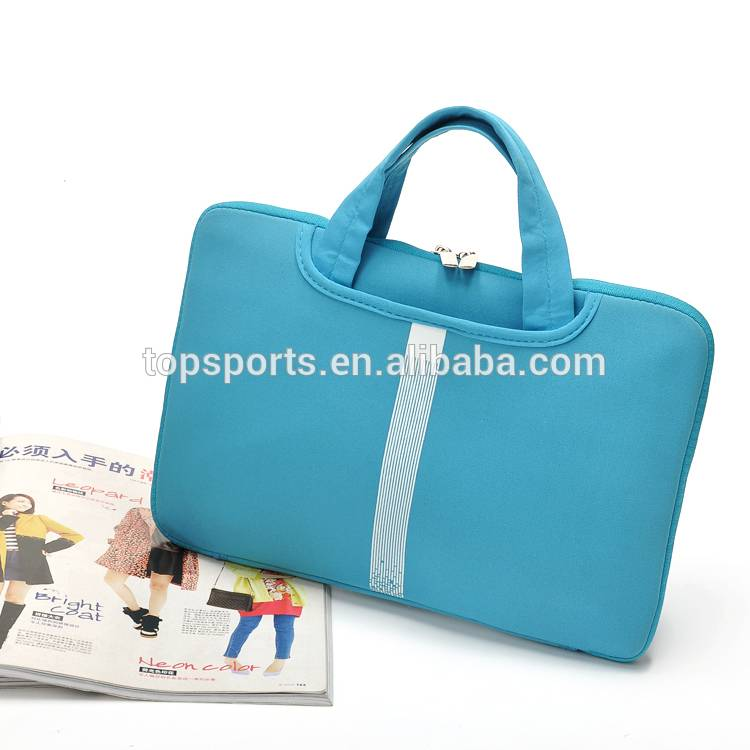 Elastic and durable newly design neoprene laptop bag