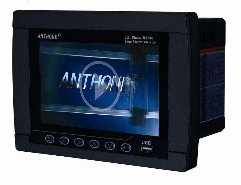 anthone 16 channels paperless recorder LU-Show-R3200