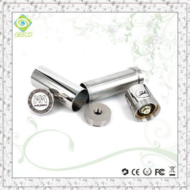 Geeco mini poldiac e-cig mod atomizer vaporizer with long lifespan metal smoking pipes