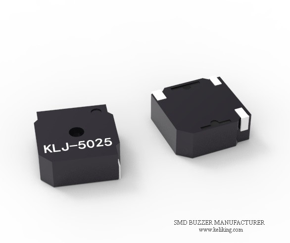 L5.0mmW5.0mmH2.5mm SMD Buzzer Magnetic Surface Mounted Buzzer Speaker Alarm Audio Transdcucer KLJ