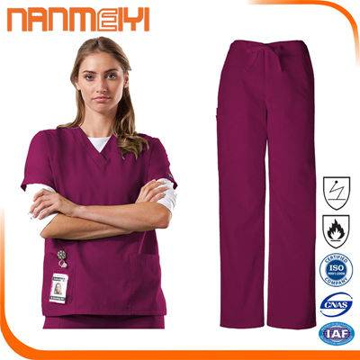 2016 new design cheap hospital uniform made in China