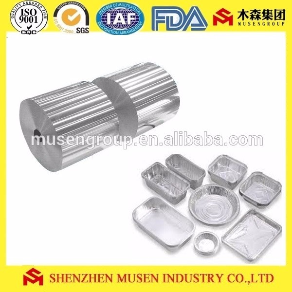 Aluminum foil for household / food container inJumbo roll