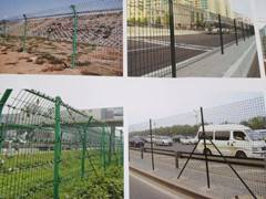 Highway protection fencing