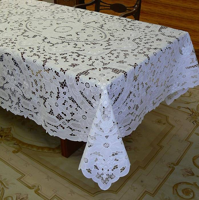 handembroidery table cloth