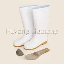 White PVC Safety Rain Boot, Rain Boot, Safety Boot