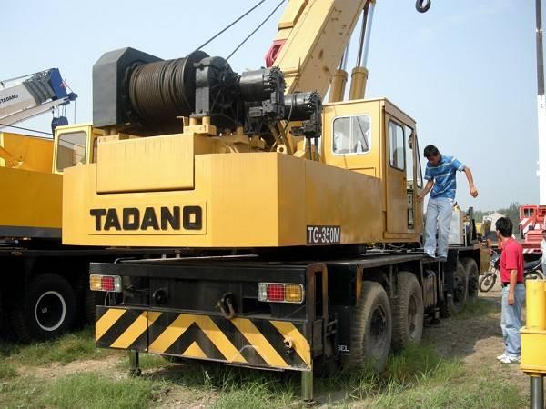Used Truck Crane TADANO 35TON TG-350M