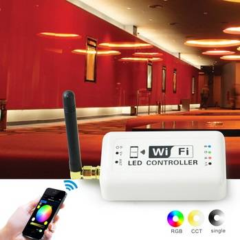 Android/IOS aluminum profile for led strip light wifi led wifi controller for android tablet