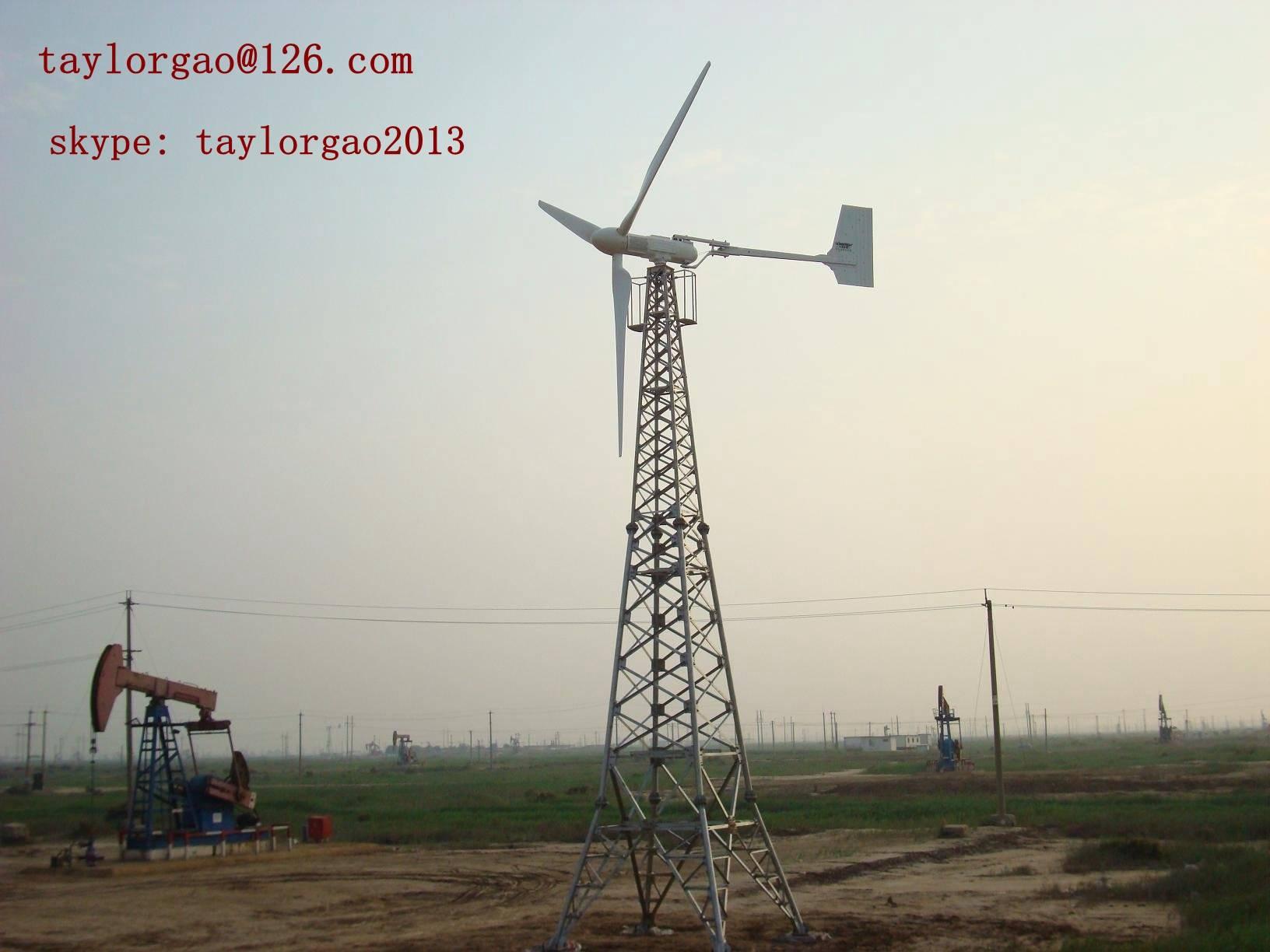 YANENG 10kw wind turbine, wind power system for household, farm, water pumping
