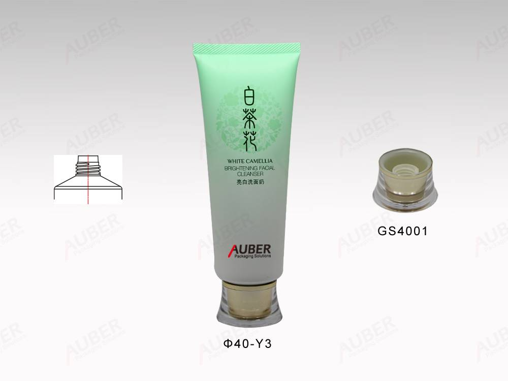 Cosmetic Packaging For Whitening Facial Cleansing Cream 60ml
