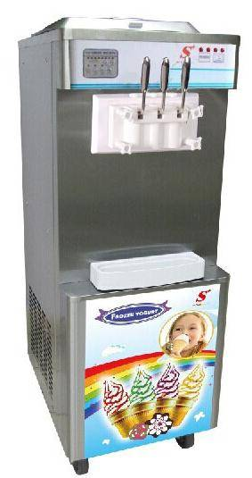 Floor soft ice cream machine