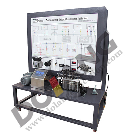 Diesel Electrical Control System Teaching Board Automotive Training Equipment