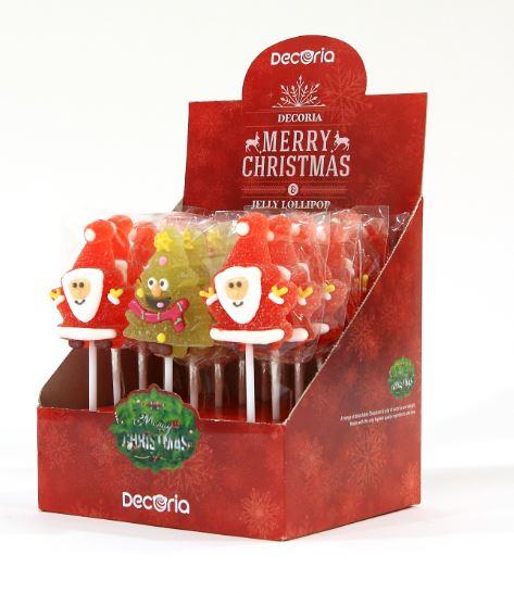 Merry Christmas Jelly Lollipop