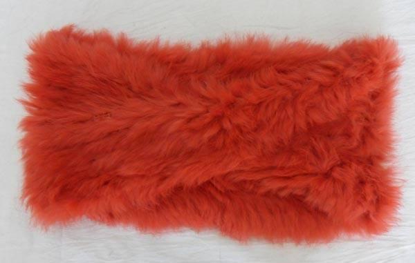 nice genuine fur neckwear scarf