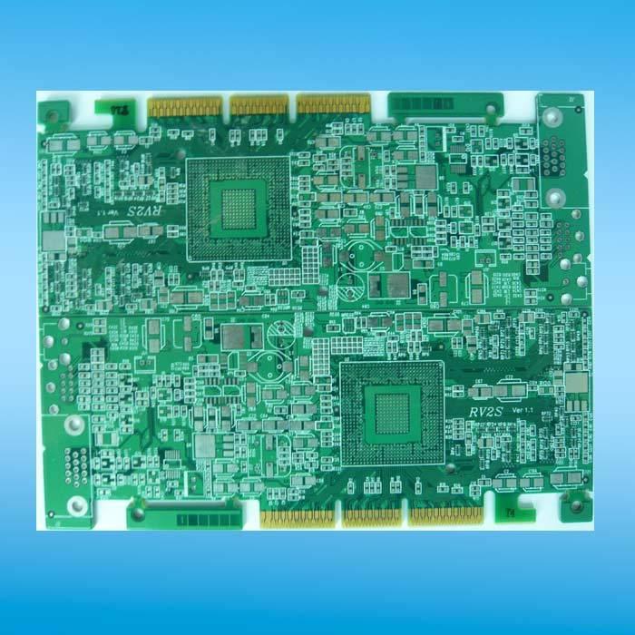 Six-layers PCB, 1.6-FR-4, ENIG