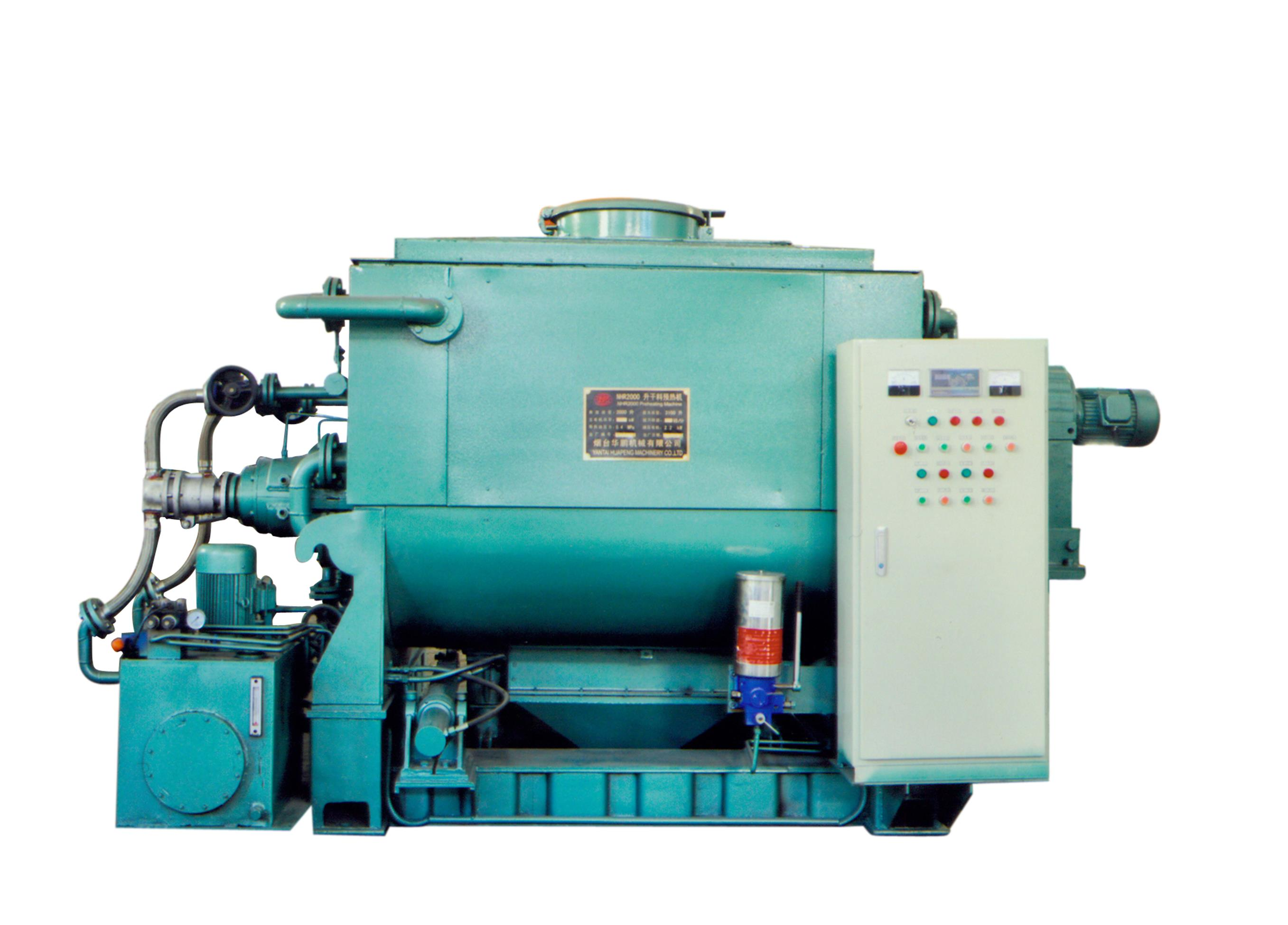 NHR dry material preheating machine