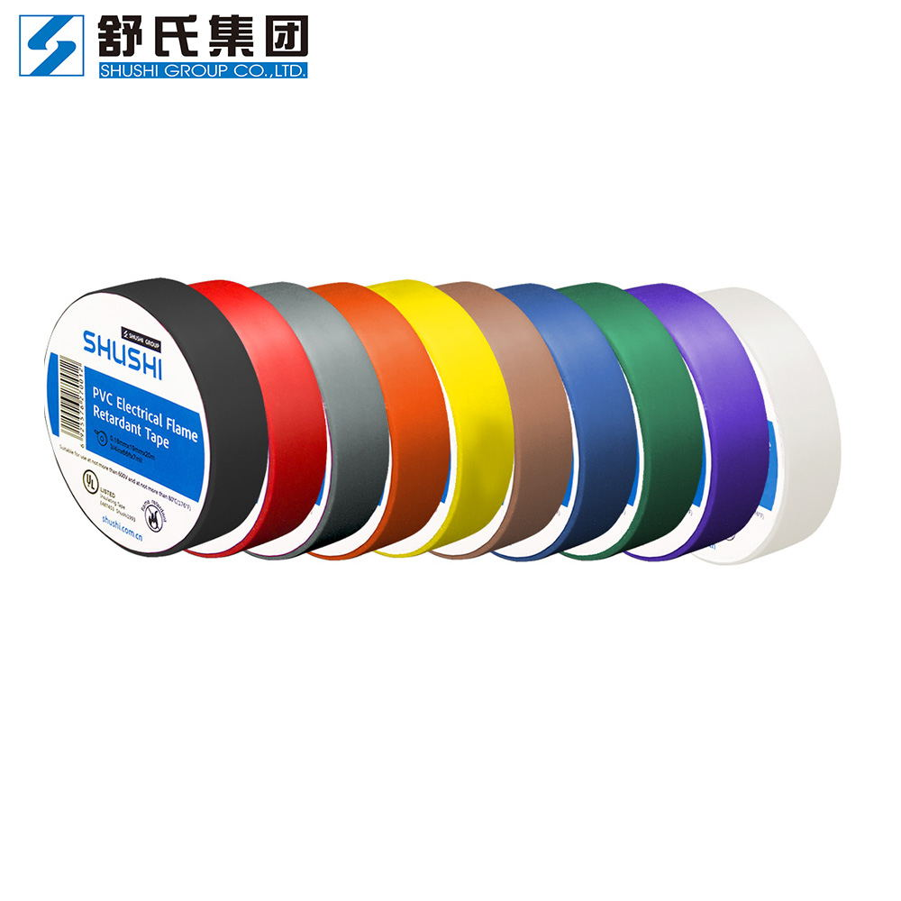 UL listed PVC insulating tape multi colors