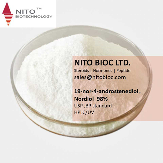 Factory Quality Control, Strong Intermediate:19-nor-4-androstenediol,Nordiol 19-Norandrostenediol