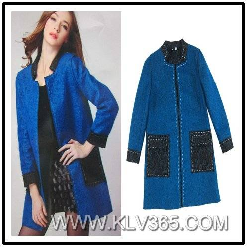 Women Latest Fashion Winter Wool jacket Wholesale