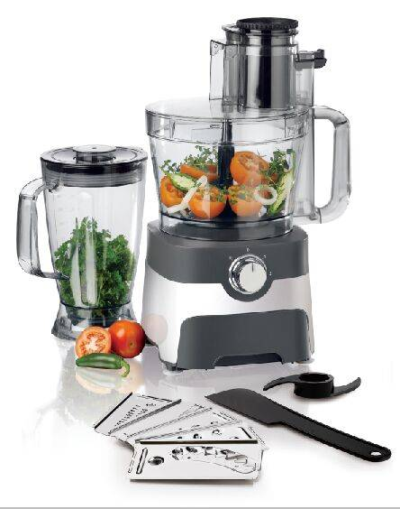 FP403 Multi Electric Food processor With Stainless Steel Blade and Blades Drawer