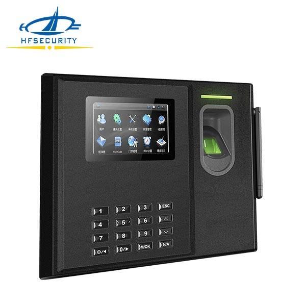 Hot Sale WIFI/GPRS Web-Server Standalone Biometric Time Keeping Machine(HF- Bio800)