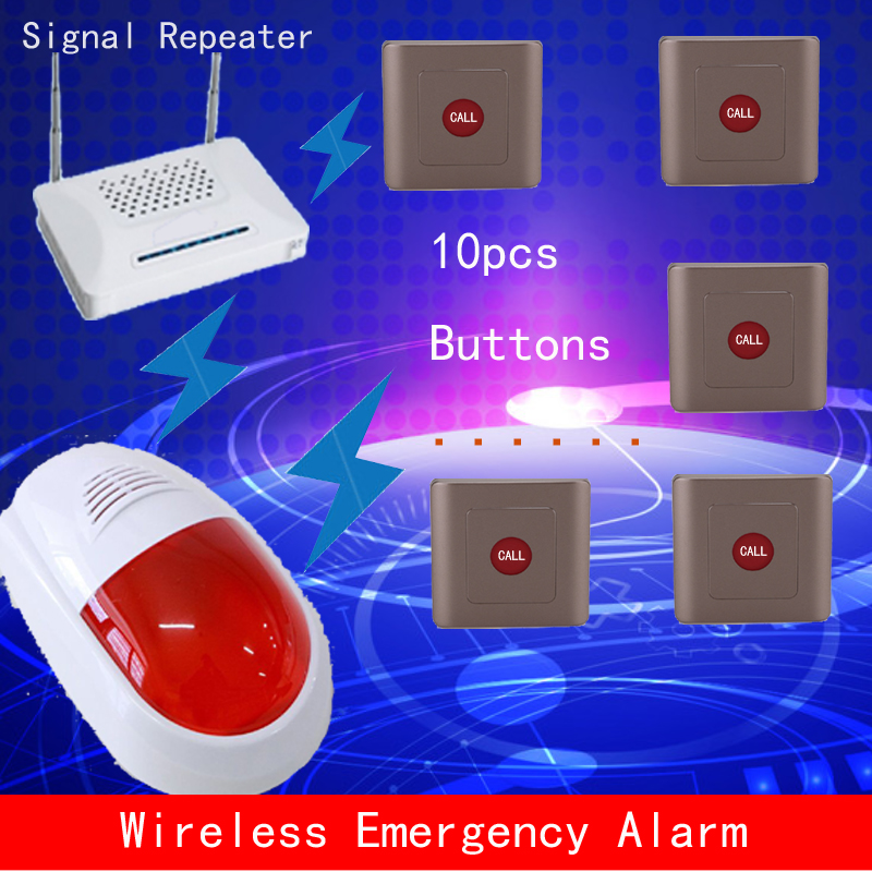 security check alarn,wireless emergency call,in terrorist attacks,push the button to call policeman