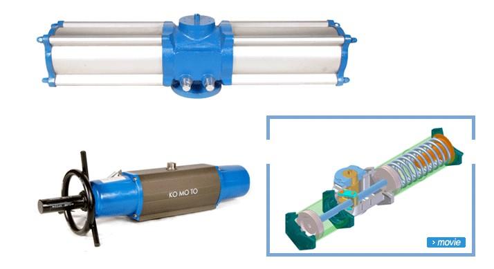 Piston Cylinder Actuator