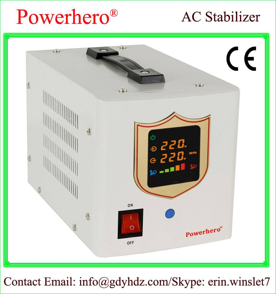 5000VA AVR automatic voltage regulator home stabilizer