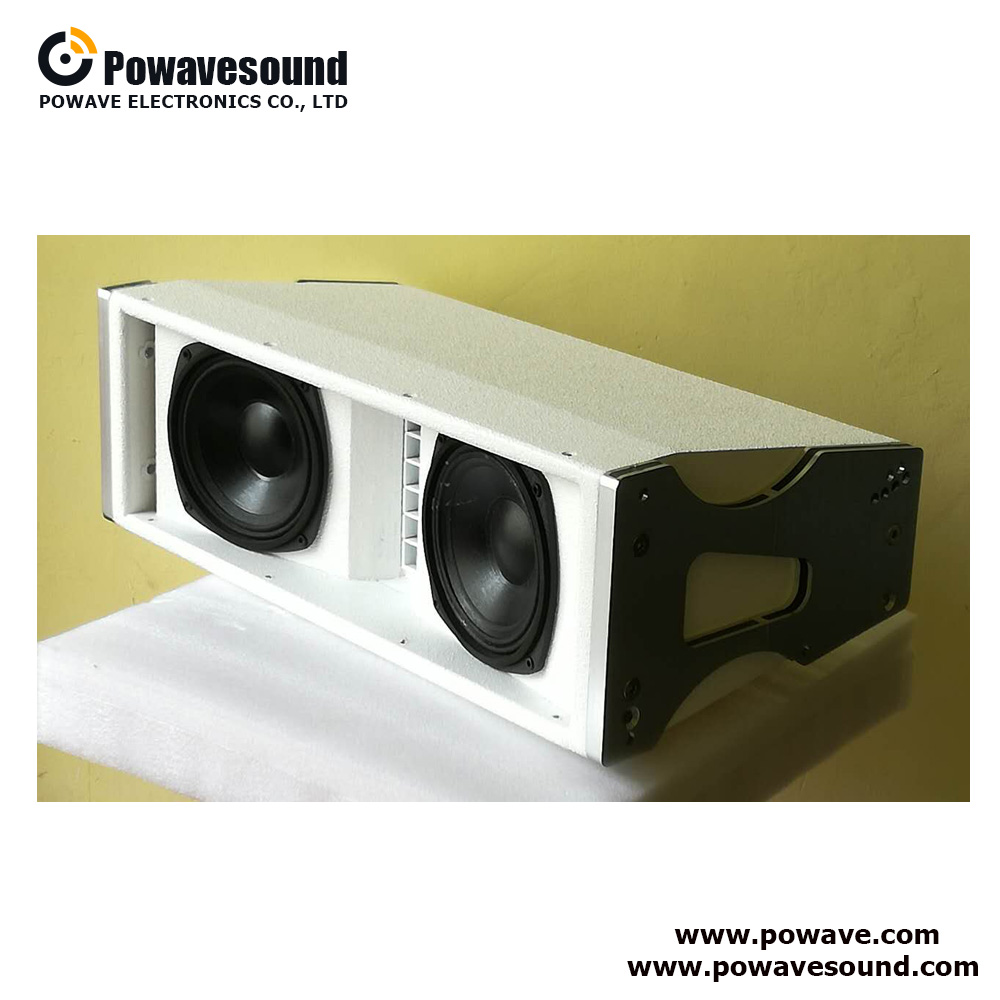 AS-2206 Powavesound Dual 6 inch line array speaker, passive or active optional