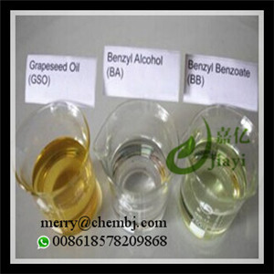 BA Organic Solvents Benzyl Alcohol 100-51-6 for Oral / Injection Steroid