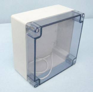 IP66 plastic clear cover ABS box