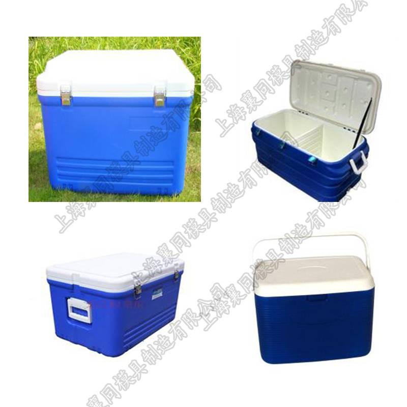 2015 hotsell aluminum rotational molds for ice box