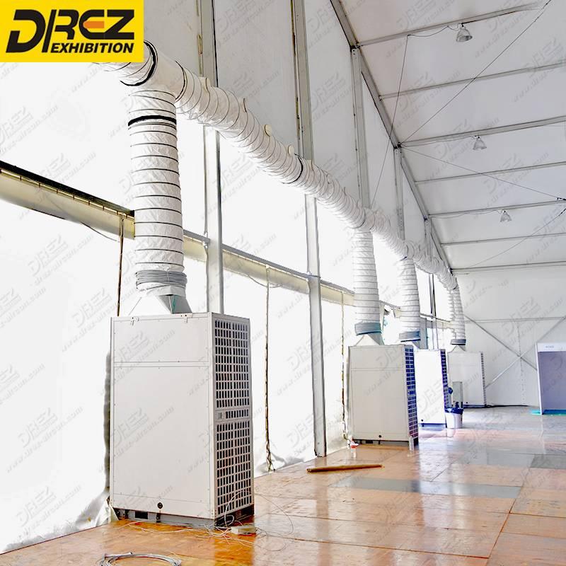 Drez 20 ton Central Air Conditioner 20 Minute Installation compressor cooler for Server Room