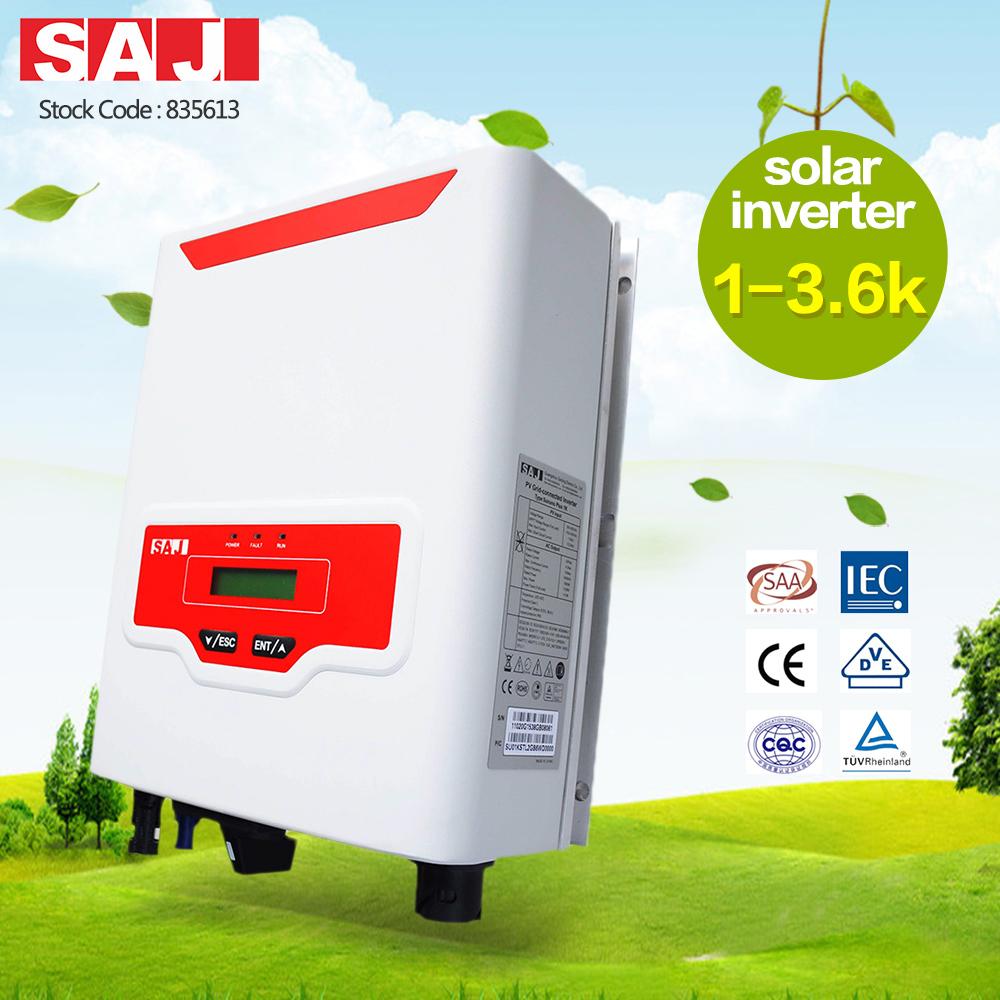 SAJ Thailand PEA Listed On Grid Solar Inverter 2kw, 3kw, 5kw Grid Tie Solar Inverter For Home
