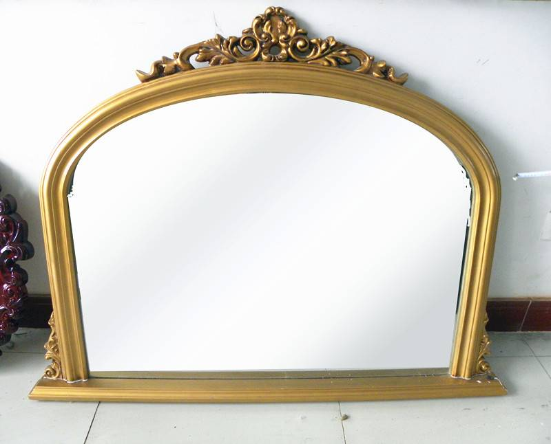 Golden color Shaped frame for decorative