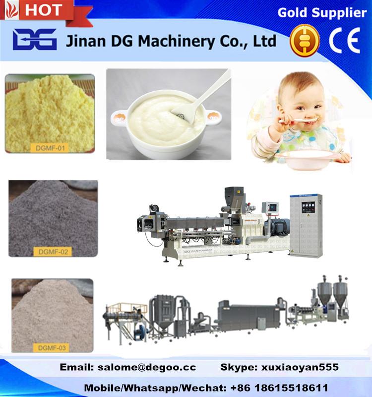 nutritional grain powder/instant baby food powder making machine production line