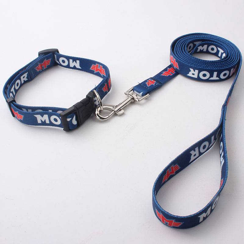 2015 China factory wholesale customized dog collar and leash