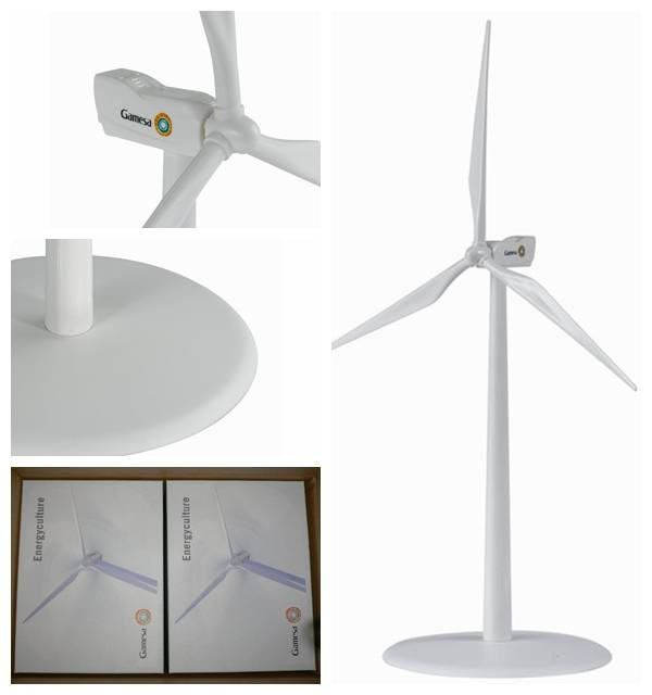 Gamesa Plastic Windmill for Business Gifts