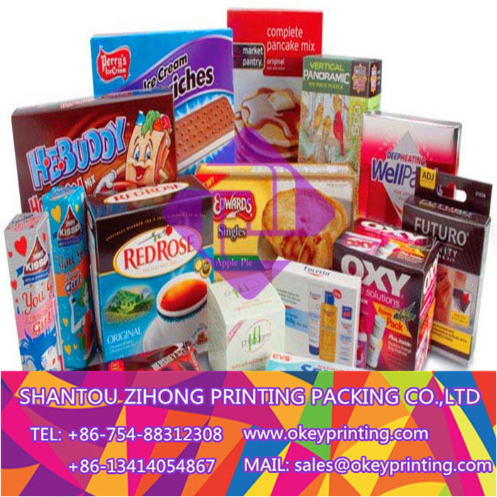 printing food packaging box