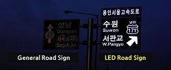 LED Road and Traffic Signs
