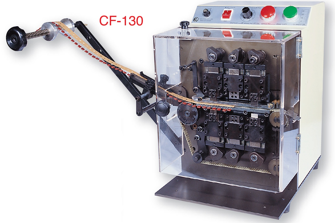 CF-130 Auto Taped Radial Lead Forming Machine
