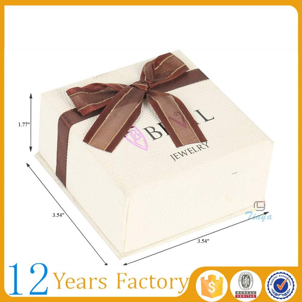 custom eco friendly paper jewelry box