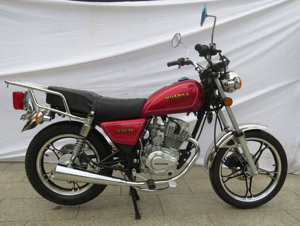 HUASHA 125CC General motorcycle GN RED HS125-6