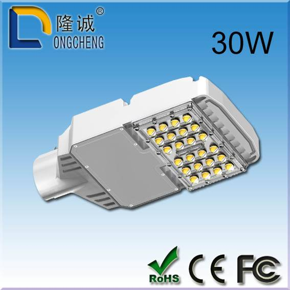 led light led street light 30W white factory sale China supplier